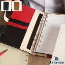 ASHFORD/アシュフォード システム手帳 マイミクスチュア バイブル 15mm ベルトタイプ No.7229 ブラック ( 黒 ) / ラスタ ( 茶 × 黒 )