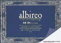 albireo水彩紙 スケッチブック ブロックタイプ B3サイズ(アルビレオ/画帳/写生帳/写生帖)