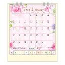 【在庫限り特価】MIDORI(ミドリ) 2020年 カレンダー リング<S> カントリータイム 花柄 30014006
