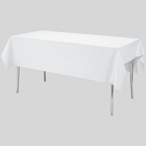 三洋白無地テーブルクロスST185(催事用品/キッチン用品・雑貨・エプロンテーブルクロス/冠婚葬祭、