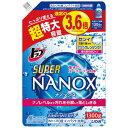 ライオン トップスーパーNANOX 詰替用1300g 242062 (1袋)