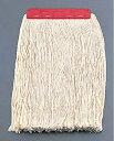 フリーハンドルEX用 替糸 E−6 レッド(ワックス塗り用) 6-1212-0301 5-1110-0301【掃除モップ ワック...