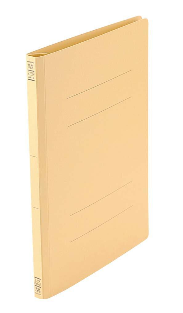 コクヨ フラットファイル V フ−V11Y B5−S 黄 2075-20 【ホール備品 事務用品・時計・チャイム 業務用 特価 格安 新品 楽天 販売 通販】[10P03Dec16]