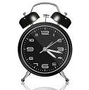 目覚まし時計 おしゃれ 大音量 子供 置き時計 電池式 明かり 光 ベル アナログ 針時計 卓上時計 アラーム めざまし時計 お誕生日 プレゼント 起きれる