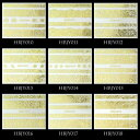 【メール便OK】 ネイルシール レース模様 ゴールド シルバー ホワイト白 ブラック黒96種類【001〜020】  レース ネイル シール ネイル用品 レースシール ネイルパーツ デコシール ジェルネイル パーツ ネイルアートシール ジェルネイルシール セルフ ジェルネイル用品