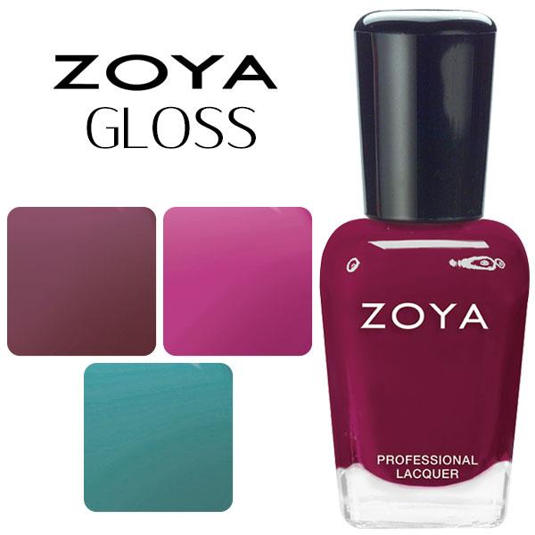 ZOYA ネイルカラー GLOSS collection 【1のレビュー・口コミ