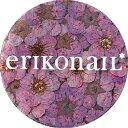 erikonail(エリコネイル):ジュエリーコレクション/ドライフラワー パープル...