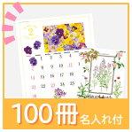 SG277 ナチュラルスケッチ (100冊)名入れカレンダー