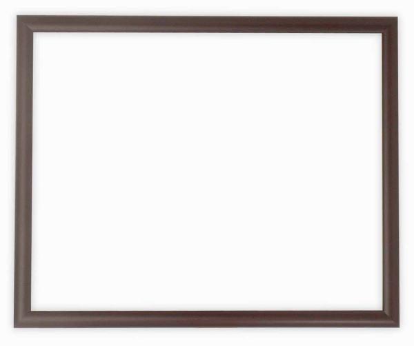 【キズ有り品】デッサン額縁 J型/マホガニー 太子サイズ(379×288mm) ☆前面ガラス仕様☆【絵画/壁掛け/インテリア/玄関/アートフレーム】
