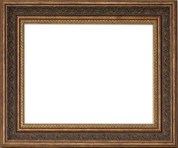 デッサン額縁 8203/アンティークゴールド A4サイズ(297×210mm)☆前面ガラス仕様☆【絵画/壁掛け/インテリア/玄関/アートフレーム】