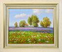 玩具, 興趣, 遊戲 - 【送料無料】エマ 『ラベンダーの咲く丘』作品サイズ: F6(410×318mm)