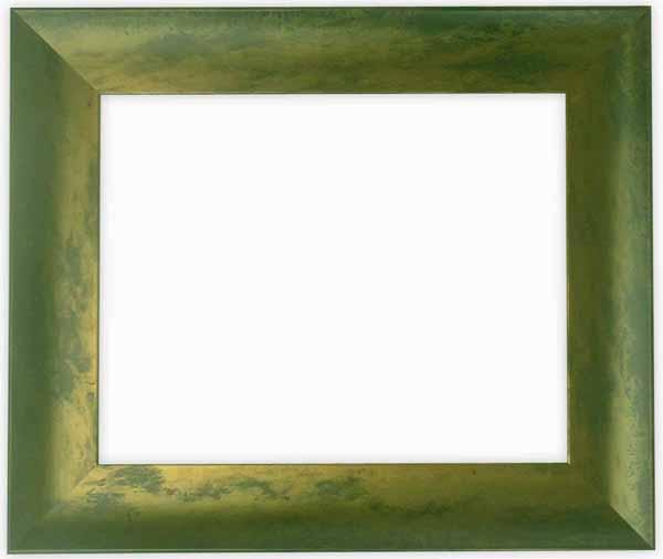 デッサン額縁 9615/グリーン A3サイズ(420×297mm)専用☆前面ガラス仕様☆【絵画/壁掛け/インテリア/玄関/アートフレーム】