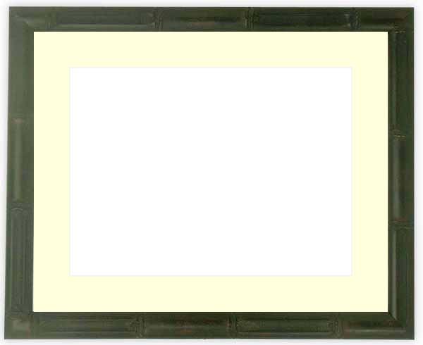 水彩額 竹フレーム/黒 水彩F8(455×380...の商品画像
