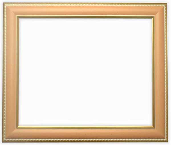 デッサン額縁 9614/オレンジ A4サイズ(297×210mm)専用☆前面アクリル仕様☆【9614/オレンジ/A4/アク】【絵画/壁掛け/インテリア/玄関/アートフレーム】