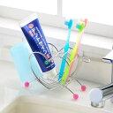 ハート型歯ブラシスタンド