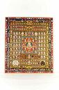 仏画色紙 胎蔵界曼荼羅