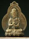 極小仏像(小)未・申歳の守り本尊 大日如来(浮き彫り)