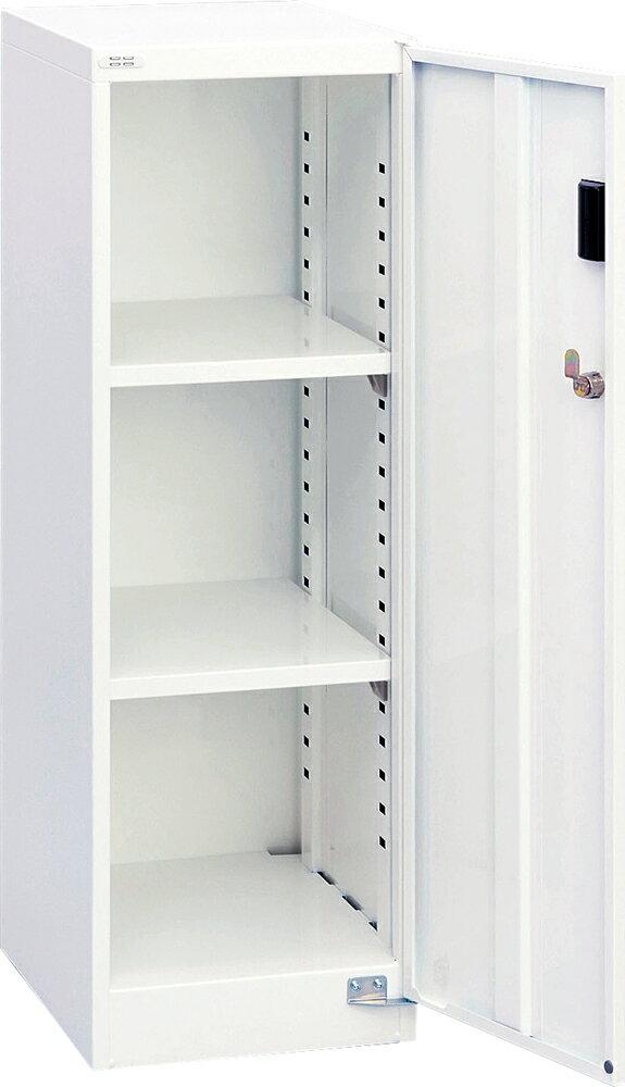 収納ボックス フロアケース 書類ボックス 収納ケース 書類ケース 引き出し 書類収納 鍵付き スチール AF-ST2 シロ