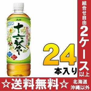 16 600 ml of 24 Asahi tea pet Motoiri [blend tea caffeine zero increase in quantity bottle]
