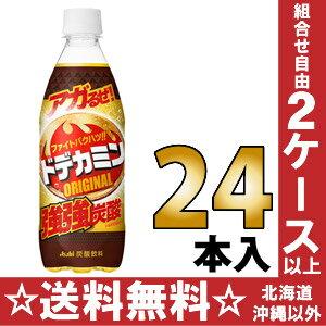 500 ml of 24 アサヒドデカミンオリジナル pet Motoiri [どでかみん]