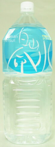 Hakusan Mt. Hakusan life water 2 liter pet 6 pieces [Hakusan-meisui]