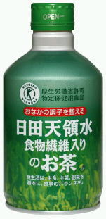 24 canned 300 g of tea Motoiri [food for specified health use トクホ] with Hita Imperial demesne water dietary fiber