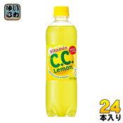 サントリー C.C.レモン 500ml ペットボトル 24本入〔Suntory シーシーレモン 檸檬 CCれもん CCレモン 〕