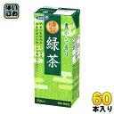〔クーポン配布中〕エルビー 緑茶 200ml 紙パック 60本 (30本入×2 まとめ買い)〔お茶〕