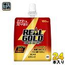 コカ・コーラ リアルゴールドゼリー 180g パウチ 24本入〔realgold エナジードリンク ゼリー エネルギー補給〕
