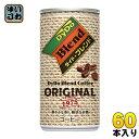 ダイドー ブレンドコーヒー 185g 缶 60本 (30本入×2 まとめ買い)〔DyDo Blend こーひー 珈琲〕