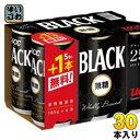 〔クーポン配布中〕UCC ブラック無糖 185g 缶 5本パック+1本付き×5セット〔缶コーヒー おまけ付 限定品〕