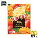 〔クーポン配布中〕ハウス フルーチェ 濃厚マンゴー 150g 30個入×2 まとめ買い〔デザート 牛乳と混ぜるだけ 果肉 ふるーちぇ くだもの〕
