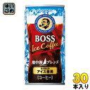 〔クーポン配布中〕サントリー BOSS ボス 地中海ブレンド 185g 缶 30本入〔コーヒー〕