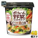 アサヒグループ食品 おどろき野菜 ボリューム野菜のはるさめスープ ピリ辛鶏白湯 48個 (6個入×8 まとめ買い)