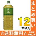 キリン 生茶 2Lペット 6本入×2 まとめ買い〔KIRIN なま茶 なまちゃ お茶 緑茶 大容量 2リットル〕