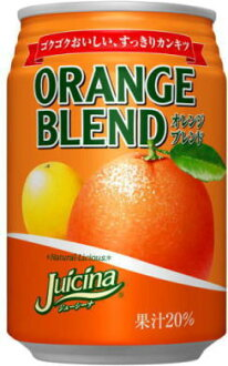 Otsuka foods Juana orange blend 280 ml cans 24 p []