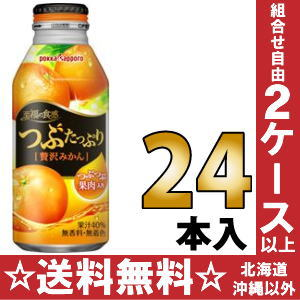 24 canned 400 g of mandarin orange bottles Motoiri [orange juice] fully luxurious a luxurious drop of the Sapporo fruit