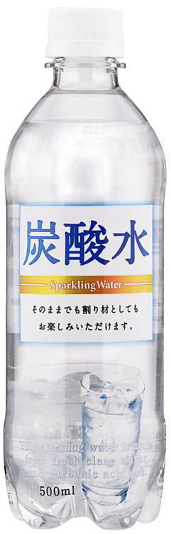 500 ml of 24 sun Gaul carbonated water pet Motoiri [at the rate of materials]