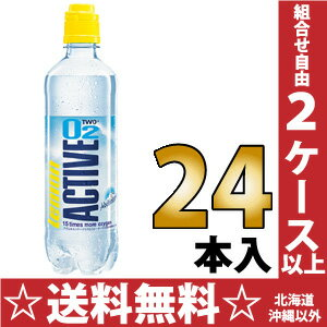 500 ml of 24 ACTIVEO2 LEMON (アクティブオーツーレモン) pet Motoiri [sports drinks]
