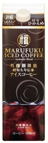Rakuten Global Market: Marufuku coffee shop 1934 tradition ice coffee ...
