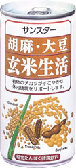 30 canned Sunstar sesame, soybean, 190 g of unpolished rice life Motoiri [health spa]