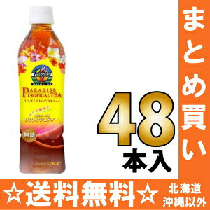 450 ml of 24 *2 UCC paradise tropical tea pet Motoiri bulk buying [no sugar tea herb tea Tea ぱらだいすとろぴかるてぃー]
