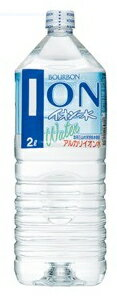 6 Bourbon ionized water 2L pet Motoiri []