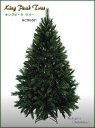 【クリスマスツリー 180cm】180cmキングピークツリー...