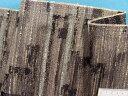 在庫処分・大幅値下げインテリア用厚手ジャガード生地黒×グレー系