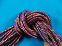 カラフルコード(細)濃ピンク×紫×ブルー