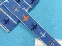 チロルテープ(飛行機)青