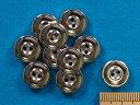 プラボタン(12mm)銀