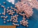 パールビーズ(3mm)薄ピンク