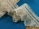 綿手編みレースアイボリー
